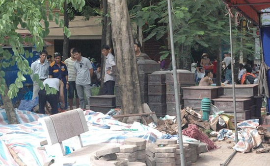 Phát hiện gần 200 bộ hài cốt trước cổng trường ĐH Công đoàn, Hà Nội