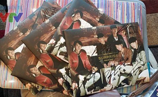 Cơ hội sở hữu 5 CD có chữ ký của Kang Tae Oh và nhóm 5urprise