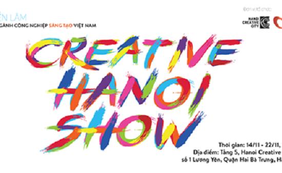Khởi động Creative Show Hanoi - Triển lãm về ngành công nghiệp sáng tạo