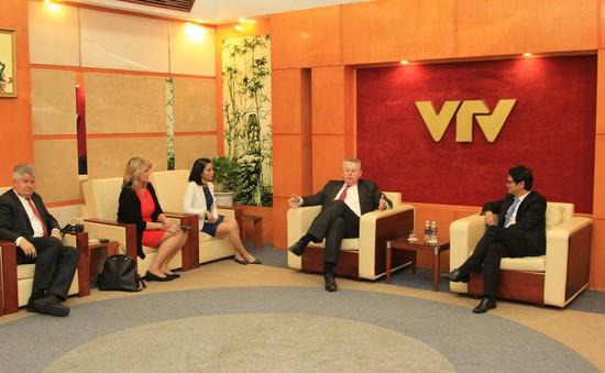 Tăng cường hợp tác giữa Đài Truyền hình Việt Nam và Đài DW (Đức)