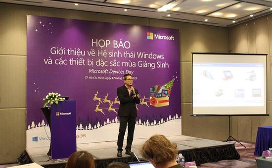 Thiết bị Windows 10 đáp ứng toàn diện nhu cầu người dùng