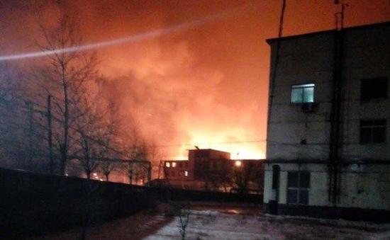 Cháy lớn tại Trung Quốc, ít nhất 4 người bị thương