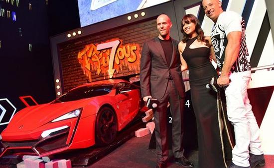 Khám phá xế hộp khủng trong Fast & Furious 7