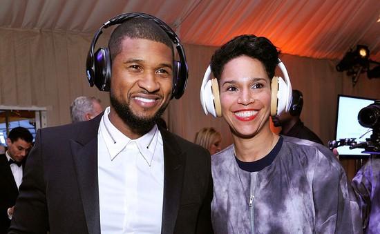 Usher đã bí mật tái hôn