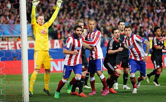 Atletico Madrid 1-0 Bayer Leverkusen (pen 3-2): Vã mồ hôi