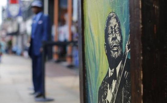 Người dân Memphis tiễn biệt B.B. King bằng âm nhạc