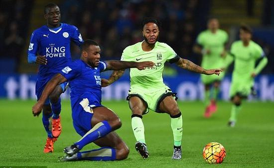 Hòa nhạt Man City, Leicester mất ngôi vô địch lượt đi