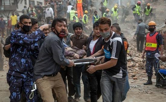 Cộng đồng quốc tế hỗ trợ Nepal khắc phục hậu quả động đất