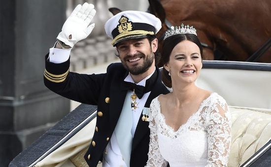 Hoàng tử Thụy Điển tổ chức đám cưới linh đình