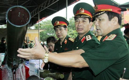 Bắn trình diễn vũ khí mới do Tổng cục CN Quốc phòng nghiên cứu chế tạo