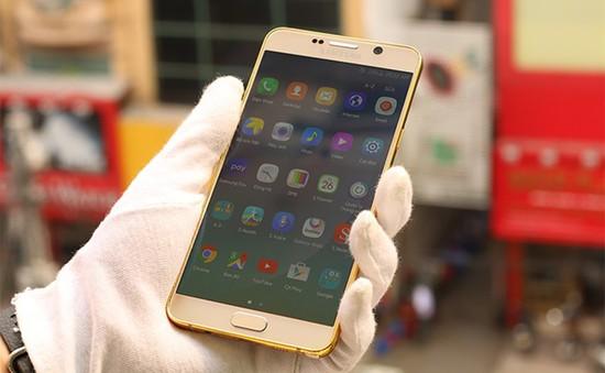 Galaxy Note 5 được mạ vàng tại Việt Nam