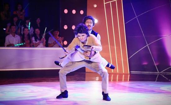 Bước nhảy ngàn cân 2015: Hoài Linh choáng vì thân hình thon gọn của Huyền Thanh