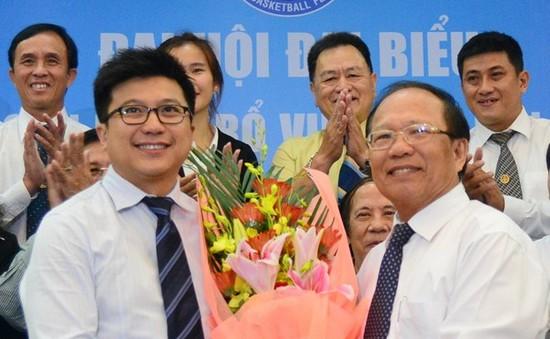 Ông Nguyễn Bảo Hoàng làm Chủ tịch Liên đoàn bóng rổ Việt Nam