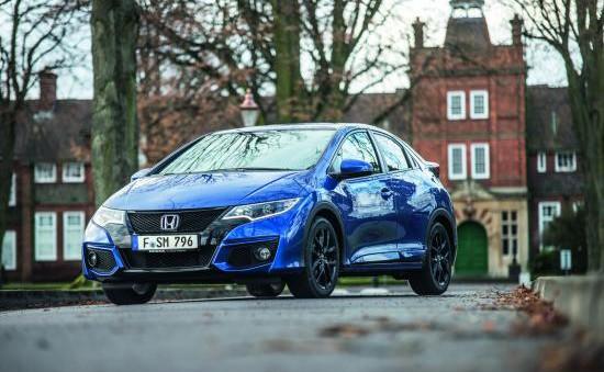 Civic 2015 được nâng cấp tính năng an toàn tại châu Âu