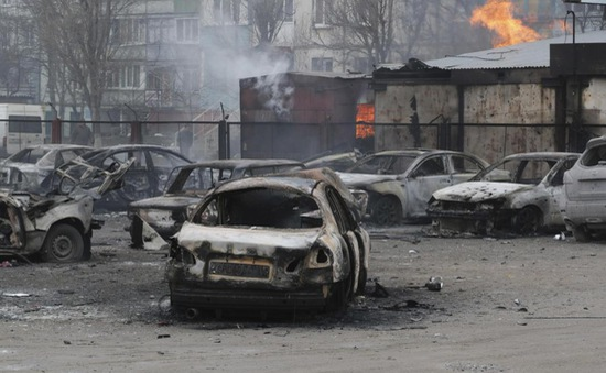 Hoả tiễn khiến 30 người thiệt mạng tại Mariupol, Ukraine