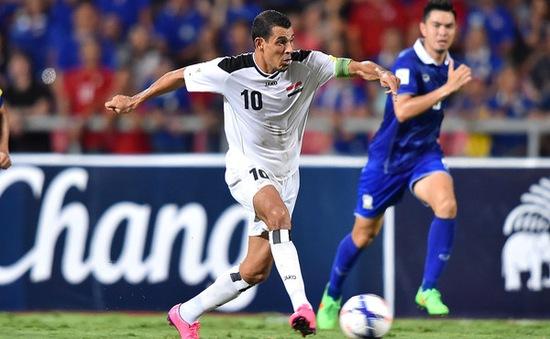 ĐT Iraq lục đục nội bộ trước trận gặp Việt Nam tại vòng loại World Cup