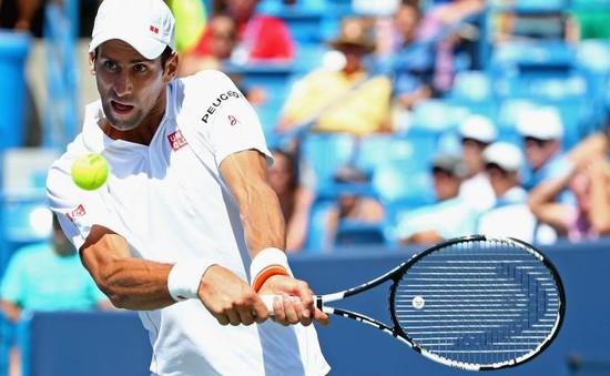 Tứ kết Cincinnati Masters: Djokovic dễ dàng vượt ải Wawrinka