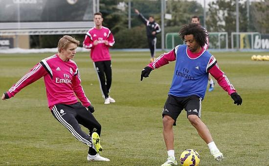 Thần đồng Odegaard sắp có trận ra mắt đội 1 Real Madrid