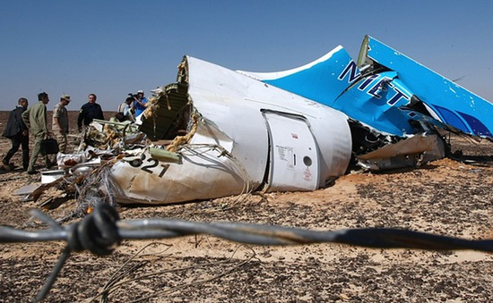 Nga xác nhận máy bay gặp nạn ở Ai Cập vì khủng bố