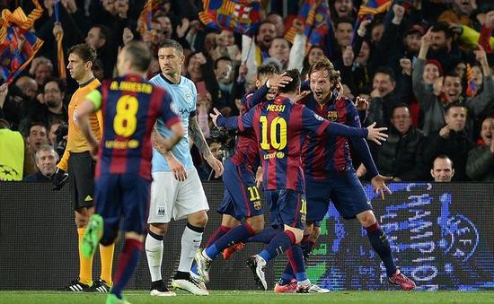 Barcelona 1-0 Man City: Nhẹ nhàng giành vé đi tiếp