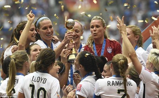 Vùi dập ĐT Nhật, ĐT Mỹ vô địch bóng đá nữ thế giới