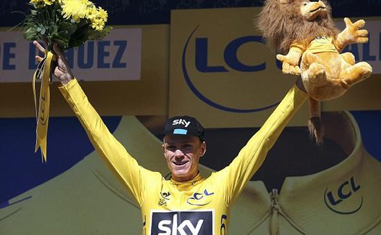 Chris Froome giành chức vô địch Tour de France 2015
