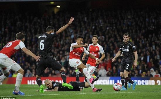 Arsenal 0-0 Liverpool: Bất phân thắng bại tại Emirates