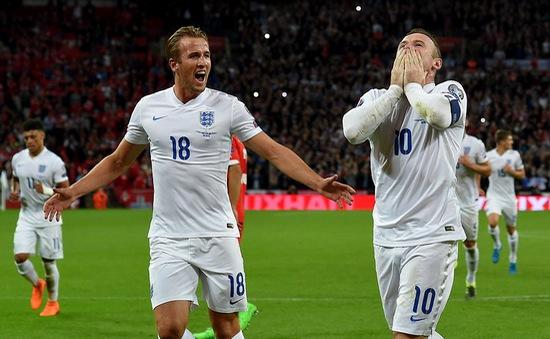Vòng loại Euro 2016: ĐT Anh thăng hoa, Rooney lập kỷ lục mới