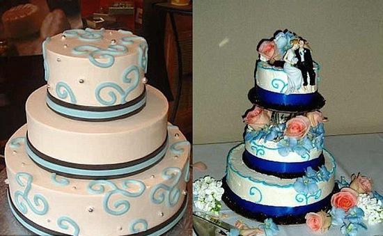 Chết cười với những thảm họa bánh cưới