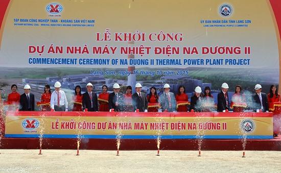 Khởi công Nhà máy nhiệt điện Na Dương II