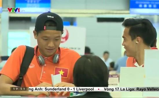 U23 Việt Nam đã lên đường sang Qatar