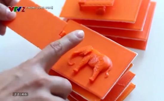 Sách in 3D dành cho trẻ khiếm thị