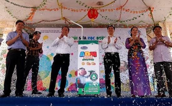 Bắc Ninh: Phát động chương trình Sữa học đường 2015-2016
