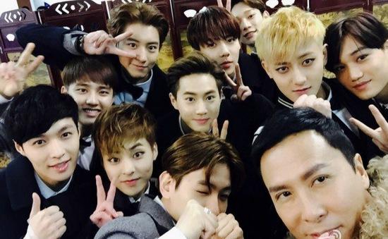 """EXO tiếp tục """"ẵm"""" giải thưởng lớn"""