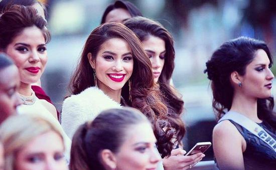 Phạm Hương vẫn được ngợi khen dù không lọt top 15 Hoa hậu Hoàn vũ