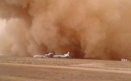 Bão cát kinh hoàng quét qua thủ đô Amman, Jordan