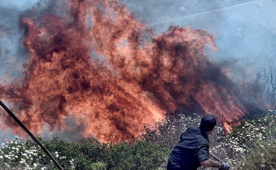 Hy Lạp: Bắt giữ 2 đối tượng liên quan đến vụ cháy rừng tại Athens