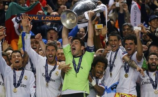 Real Madrid xuất sắc nhất thế giới năm 2014
