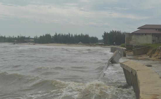 Nguy cơ mất bờ biển do sạt lở tại Quảng Nam