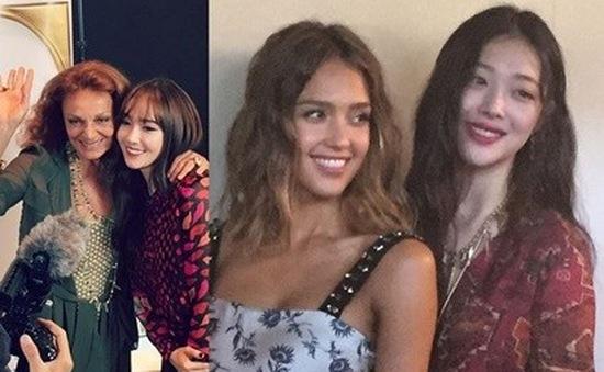 Dàn sao Hàn gây chú ý tại New York Fashion Week