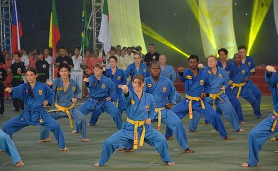 Việt Nam giành 15 HCV tại Đại hội quốc tế võ cổ truyền Việt Nam