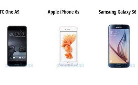 HTC One A9 có cơ hội cạnh tranh với iPhone 6S và Galaxy S6?