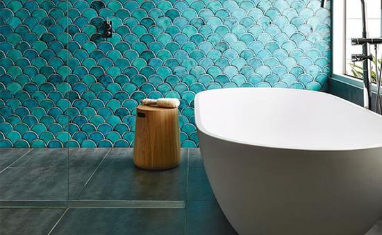 12 mẫu gạch tuyệt đẹp cho phòng tắm