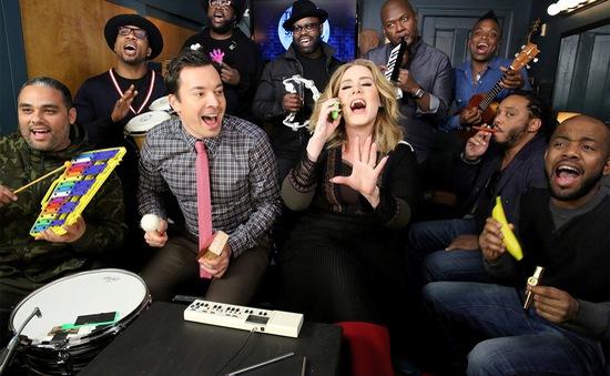 'Cười ngất' với phiên bản Hello hài hước của Adele trên truyền hình