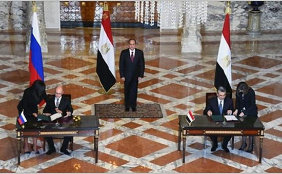 Ai Cập và Nga thỏa thuận xây nhà máy điện hạt nhân Dabaa