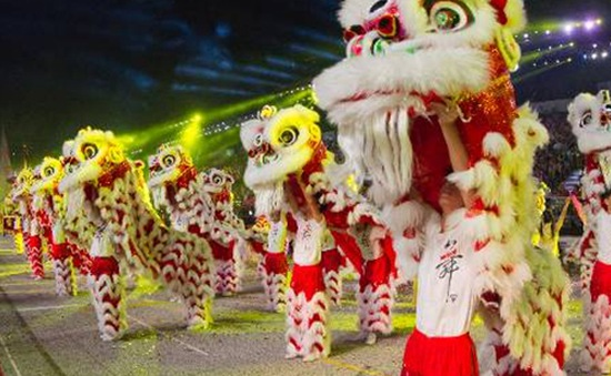 Singapore: Rộn ràng với cuộc thi múa lân