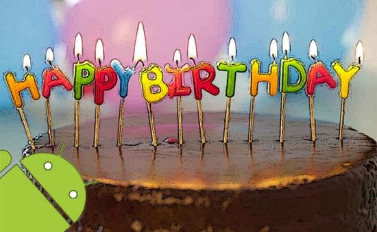 Chúc mừng sinh nhật Android tròn 8 tuổi