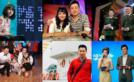 """Những cặp MC nổi tiếng """"như hình với bóng"""" trên sóng VTV"""