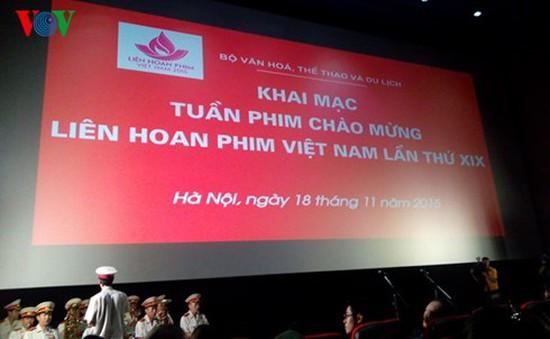 Khai mạc Tuần phim Việt Nam chào mừng Liên hoan phim lần thứ 19