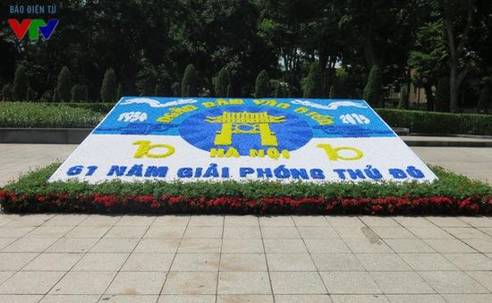 Hà Nội rực rỡ cờ hoa kỷ niệm 61 năm ngày Giải phóng Thủ đô